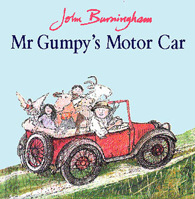 Mr Gumpy's Motor Car - Jacket