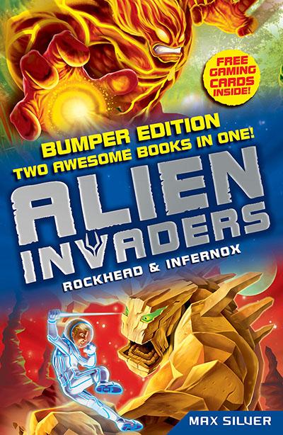 Alien Invaders: Rockhead & Infernox (2 Books in 1) - Jacket