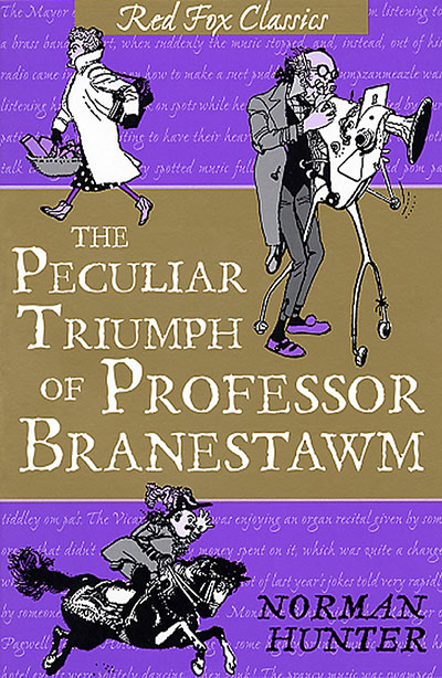 The Peculiar Triumph Of Professor Branestawm - Jacket