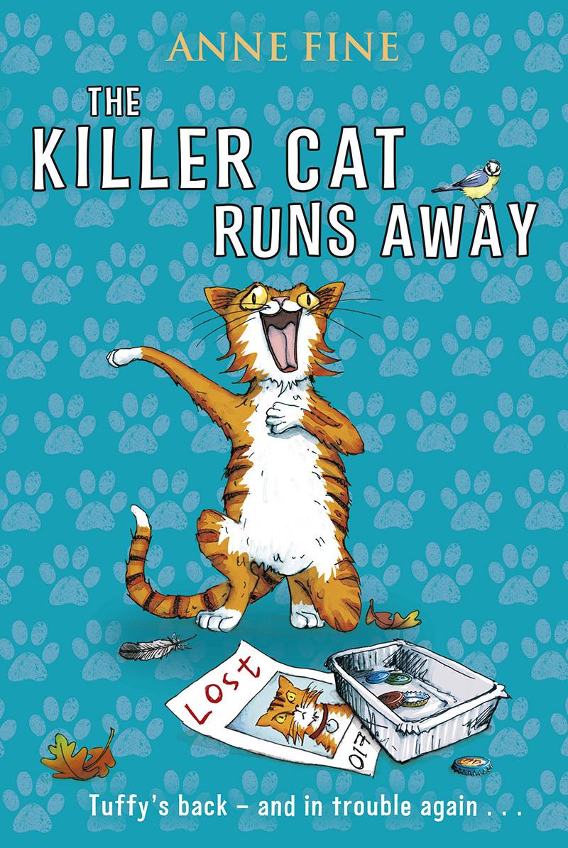 The Killer Cat Runs Away - Jacket