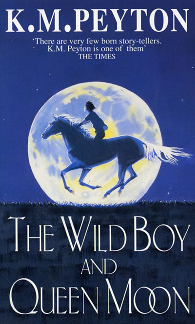 The Wild Boy And Queen Moon - Jacket