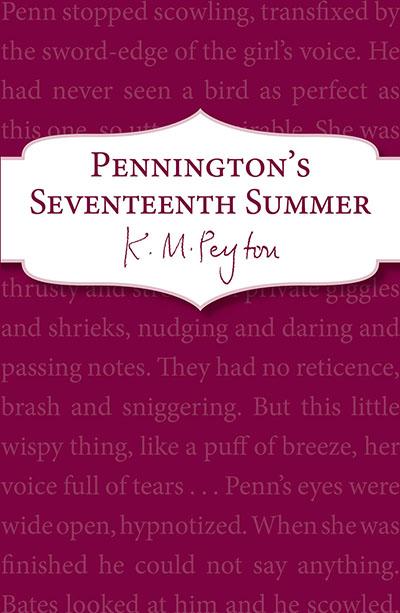 Pennington's Seventeenth Summer - Jacket