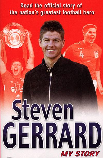 Steven Gerrard: My Story - Jacket