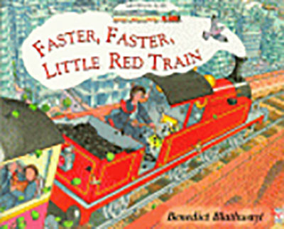 Little Red Train: Faster, Faster - Jacket