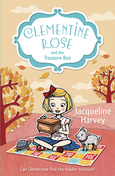 Clementine Rose and the Treasure Box - Jacket
