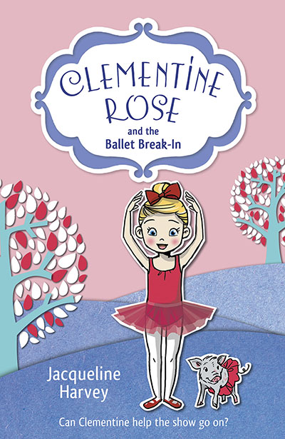 Clementine Rose and the Ballet Break-in - Jacket