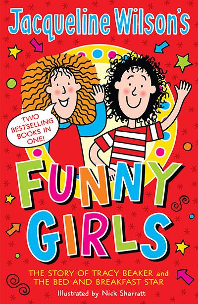 Jacqueline Wilson's Funny Girls - Jacket