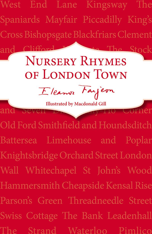 Nursery Rhymes of London Town - Jacket