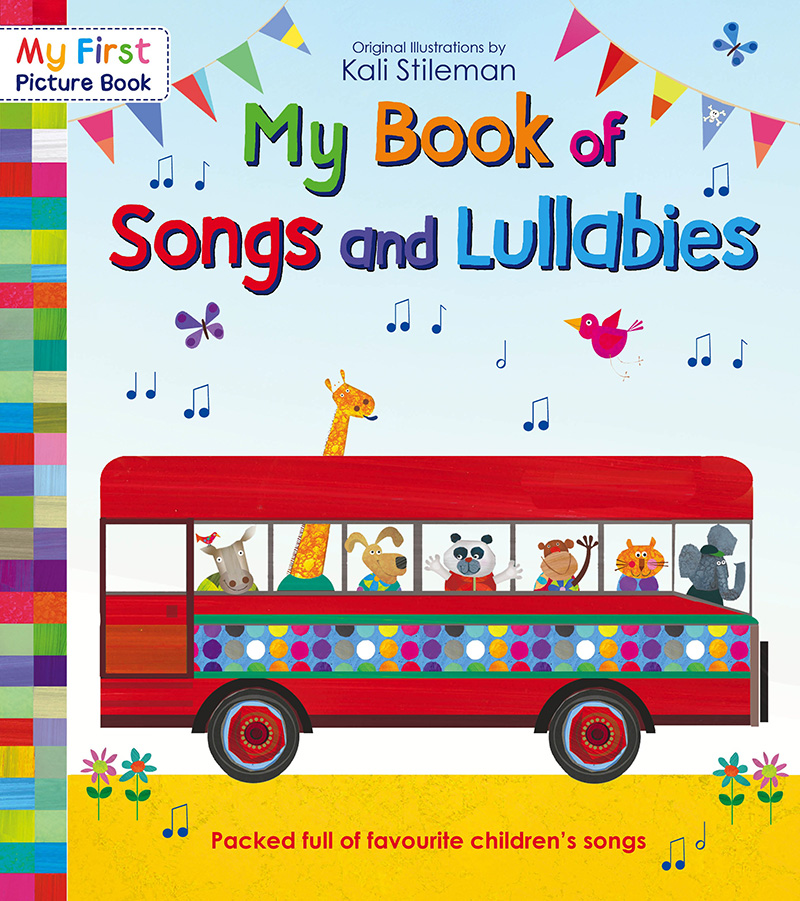 My Book of Songs and Lullabies - Jacket
