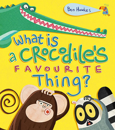 What is a Crocodile's Favourite Thing? - Jacket