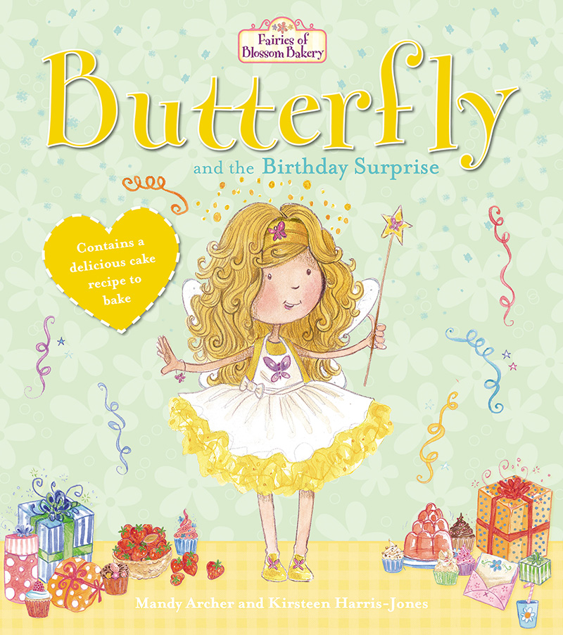 Fairies of Blossom Bakery: Butterfly and the Birthday Surprise - Jacket