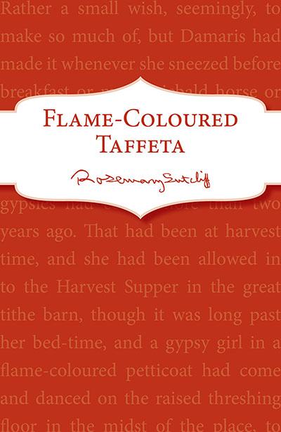 Flame-Coloured Taffeta - Jacket