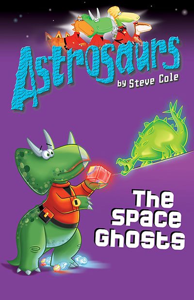 Astrosaurs 6: The Space Ghosts - Jacket