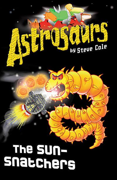 Astrosaurs 12: The Sun-Snatchers - Jacket