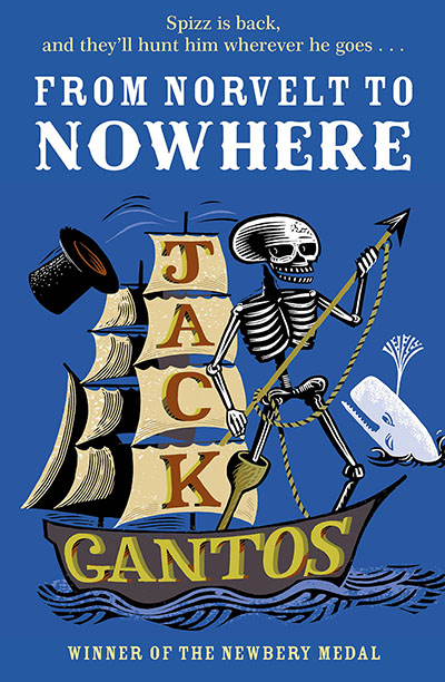 From Norvelt to Nowhere - Jacket
