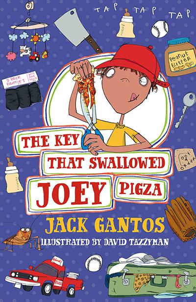 The Key That Swallowed Joey Pigza - Jacket