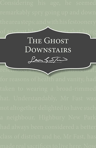 The Ghost Downstairs - Jacket