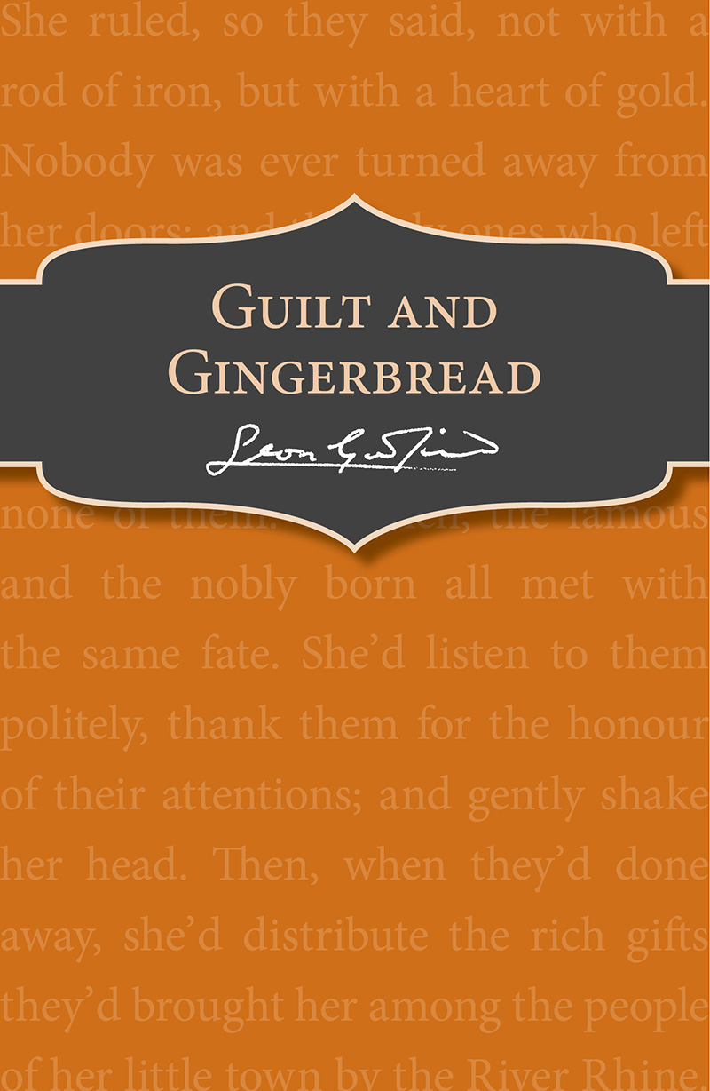 Guilt and Gingerbread - Jacket