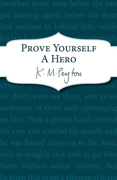 Prove Yourself a Hero - Jacket