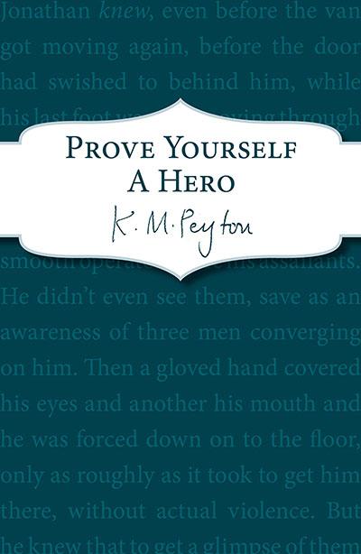 Prove Yourself a Hero - Jacket