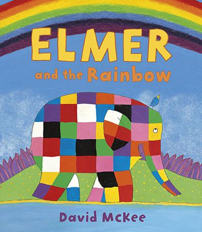 Elmer and the Rainbow - Jacket