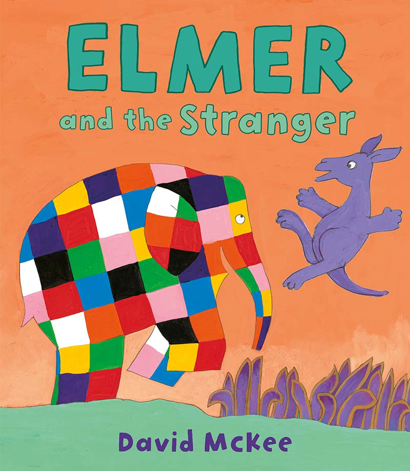 Elmer and the Stranger - Jacket