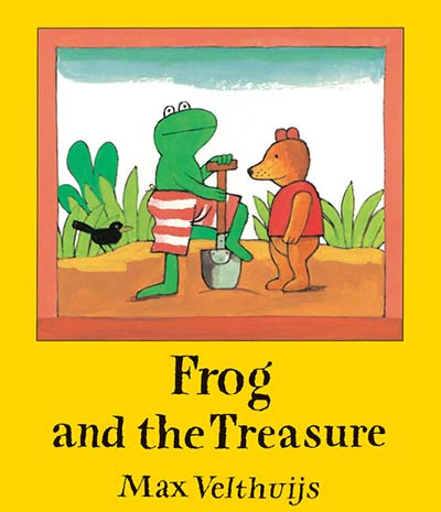 Frog and the Treasure - Jacket