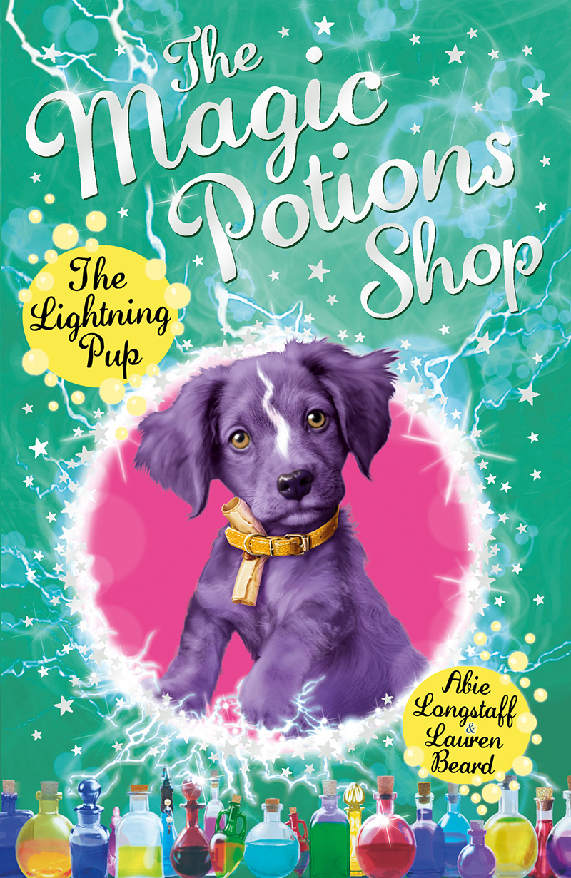 The Magic Potions Shop: The Lightning Pup - Jacket