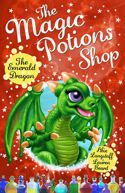 The Magic Potions Shop: The Emerald Dragon - Jacket