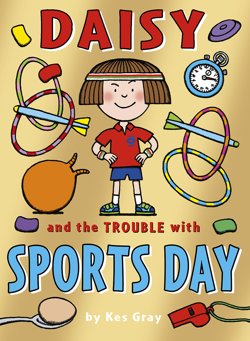 Daisy and the Trouble with Sports Day - Jacket