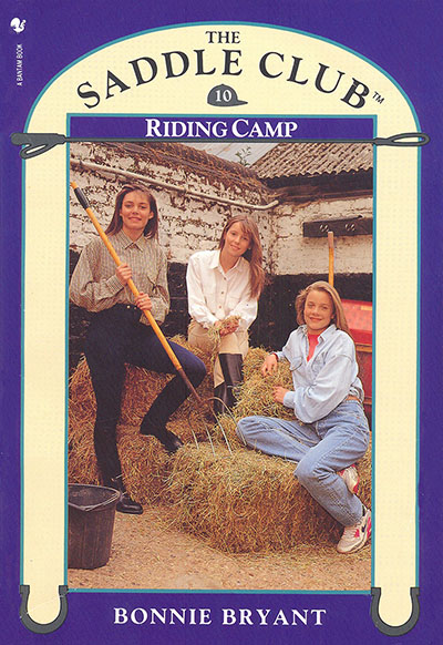 Saddle Club Book 10: Riding Camp - Jacket