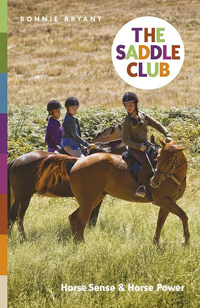 The Saddle Club: Horse Sense & Horse Power - Jacket