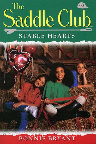 Saddle Club 63: Stable Hearts - Jacket