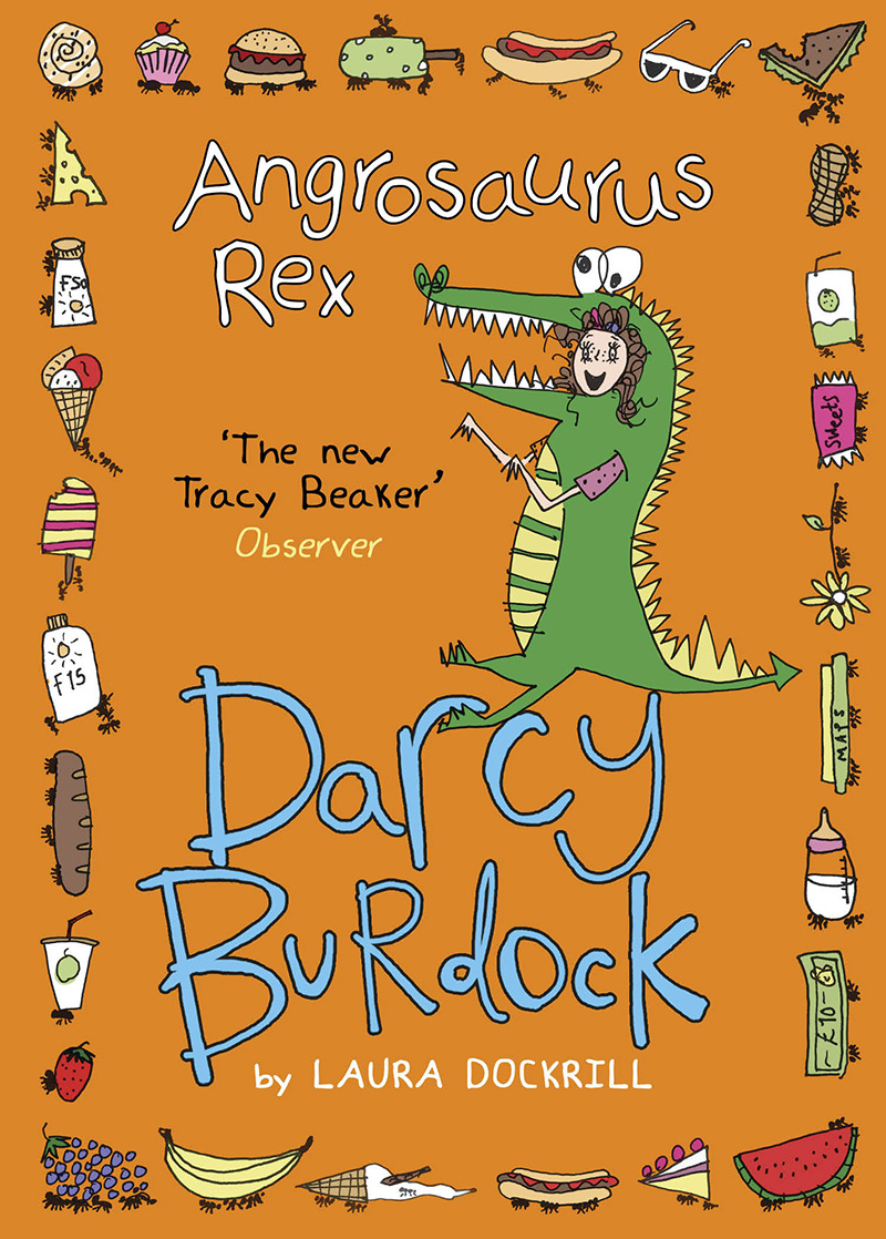 Darcy Burdock: Angrosaurus Rex - Jacket