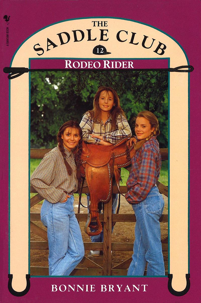 Saddle Club Book 12: Rodeo Rider - Jacket