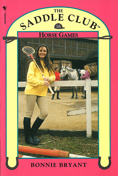 Saddle Club Book 16: Horse Games - Jacket