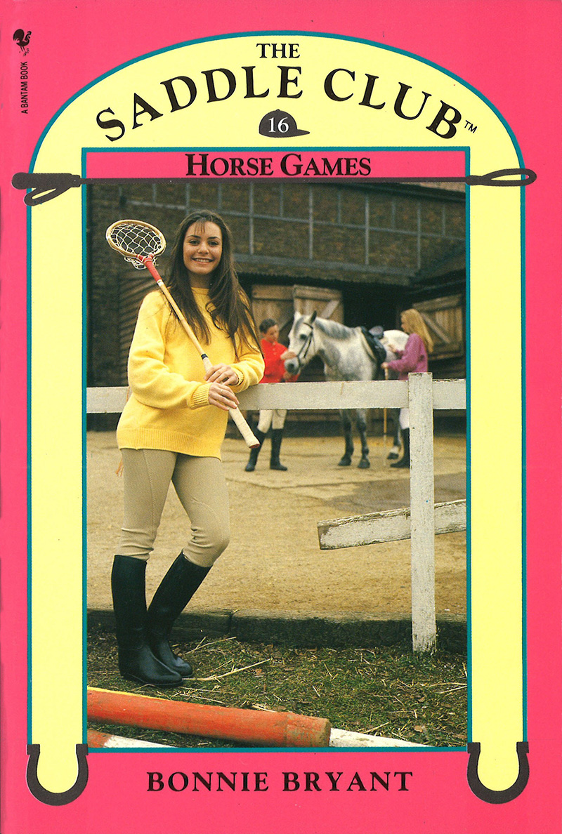Saddle Club Book 16: Horse Games - Jacket