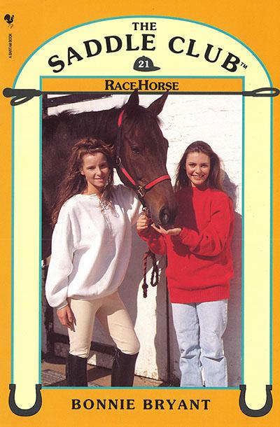 Saddle Club Book 21: Race Horse - Jacket