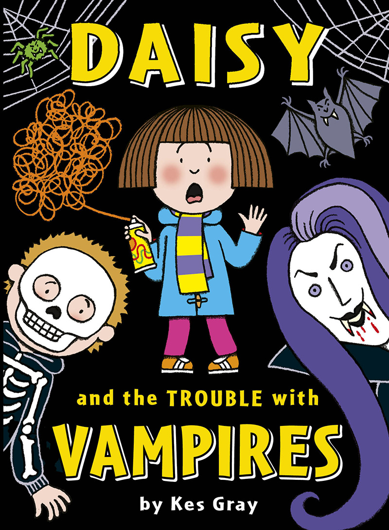 Daisy and the Trouble with Vampires - Jacket