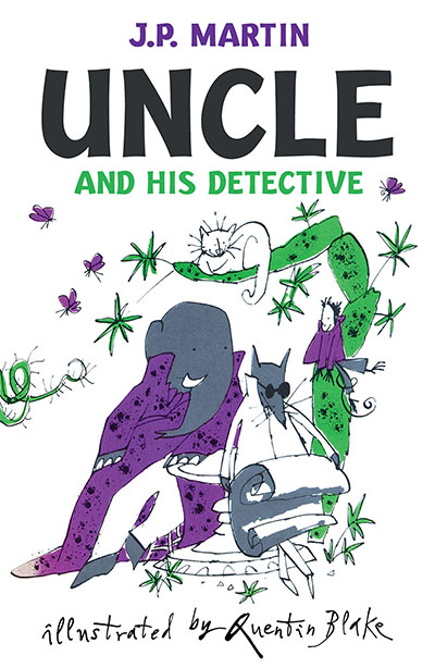 Uncle And His Detective - Jacket