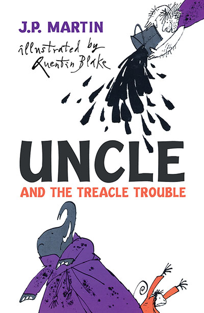 Uncle And The Treacle Trouble - Jacket