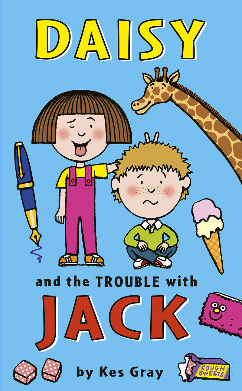 Daisy and the Trouble With Jack - Jacket