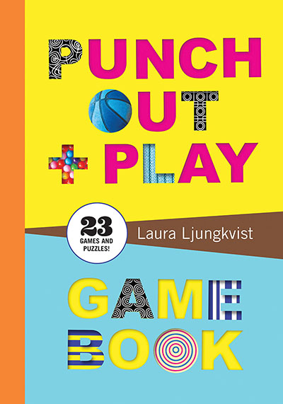 Punch Out & Play Game Book - Jacket