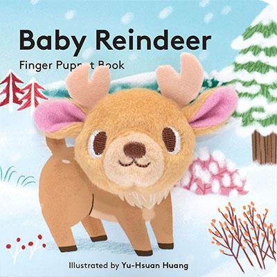 Baby Reindeer: Finger Puppet Book - Jacket