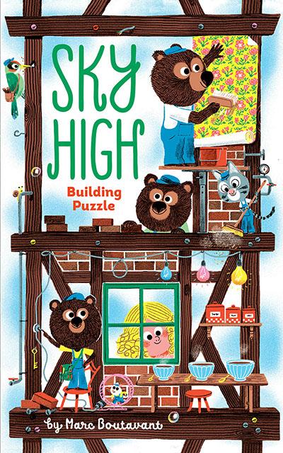 Sky High Building Puzzle - Jacket