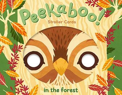 Peekaboo! Stroller Cards: In the Forest - Jacket