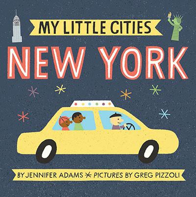 My Little Cities: New York - Jacket