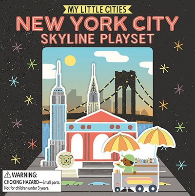 My Little Cities: New York City Skyline Playset - Jacket