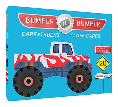 Bumper-to-Bumper Cars & Trucks Flash Cards - Jacket