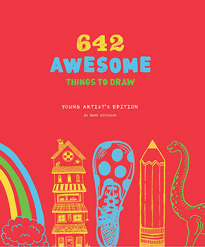 642 Awesome Things to Draw: Young Artist's Edition - Jacket
